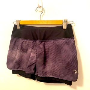 MPG shorts athletic 2 in 1 lined running shorts!